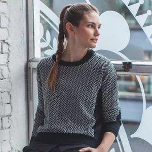LULULEMON Yogi Crew Sweater Merino Herringbone V17